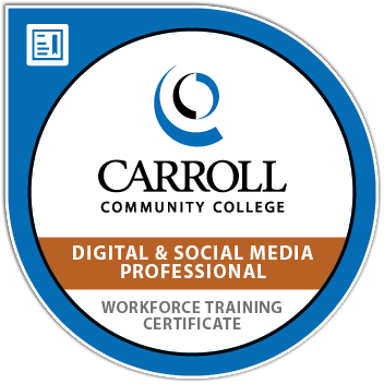 Certificate - Digital and Social Media Professional