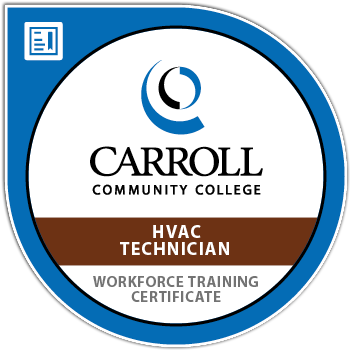 Digital Badge HVAC Technician