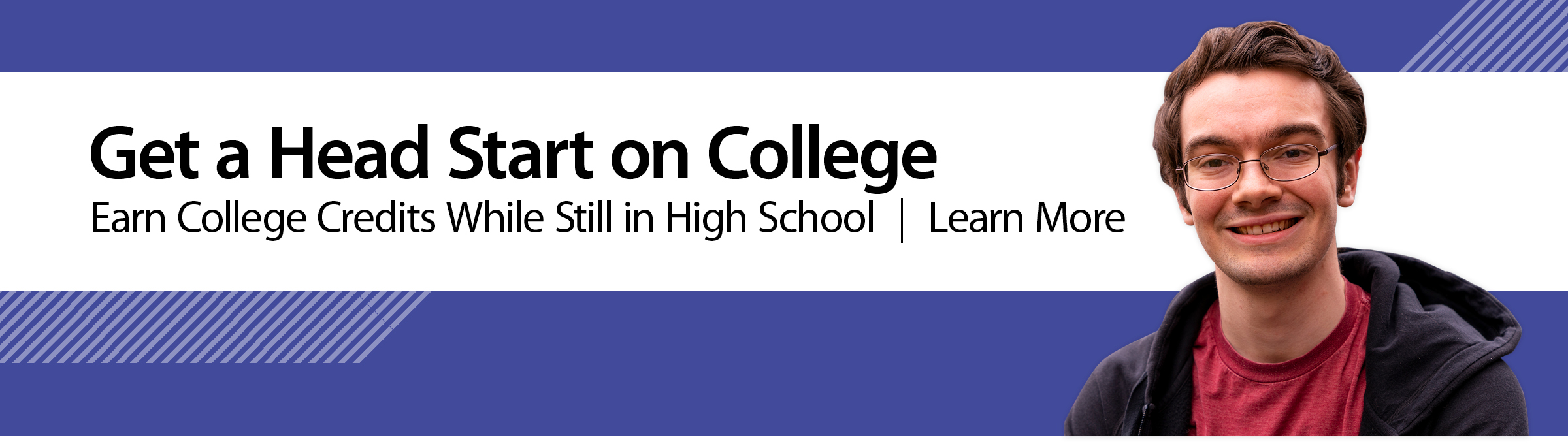 Get a Head Start on College Earn College Credits while still in high school