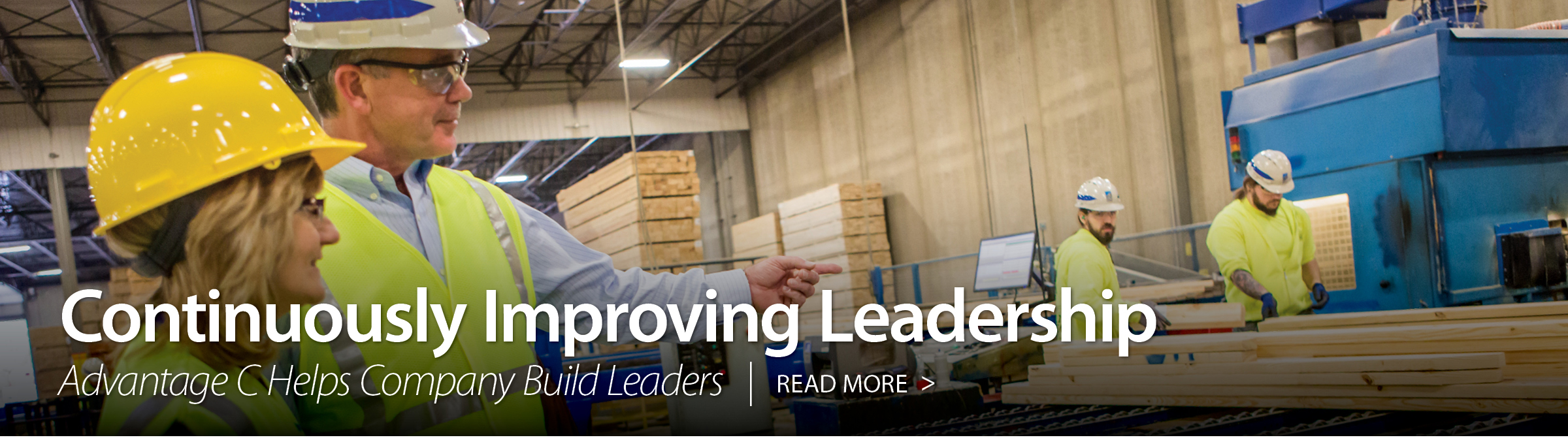 Continuously Improving Leadership Continuously Improving Leadership