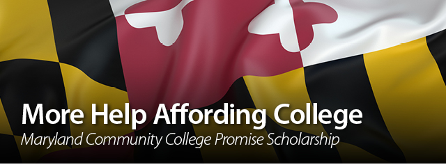 More Help Affording College Maryland Community College Promise Scholarship