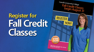 Register for Fall Credit Classes