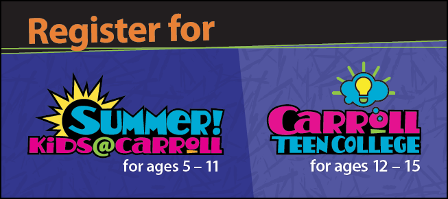 Summer Kids and Teen College Banner For Instant Enrollment