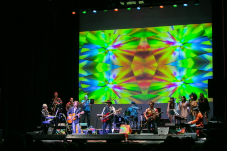 "The band ""Glen Burtnik's Summer of Love Concert"" performs on stage in the Theater for Starry Night 2018"