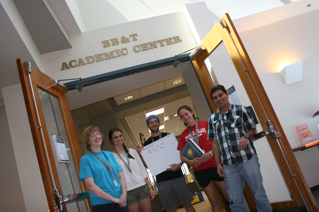 academic center landing page