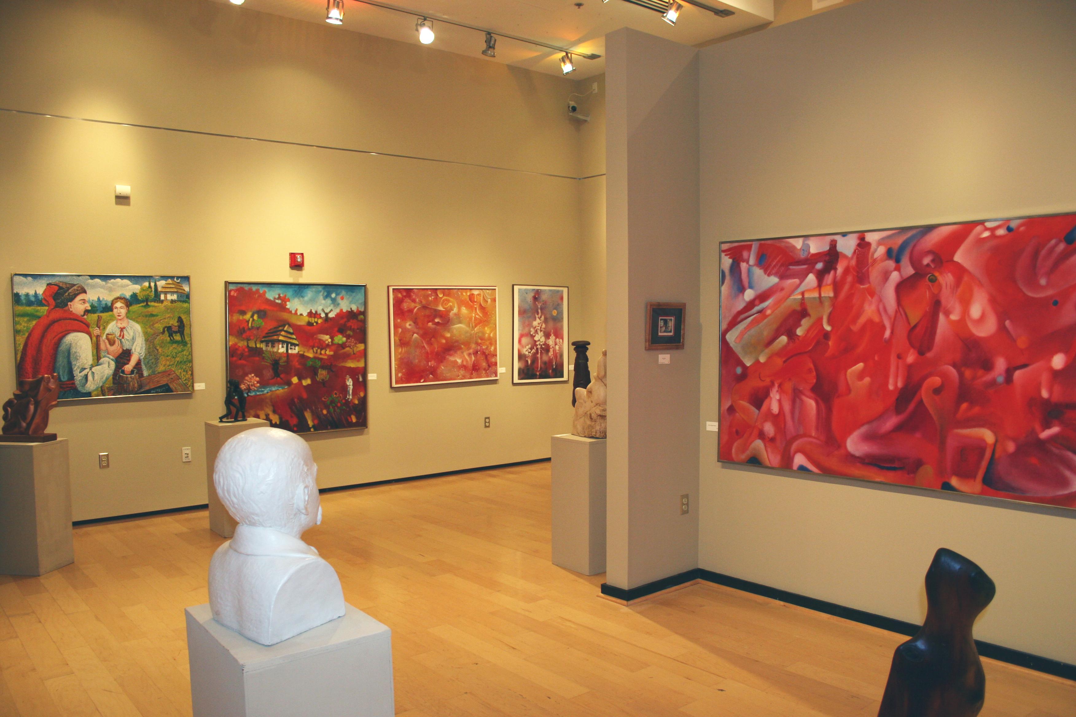 art galleries exhibits